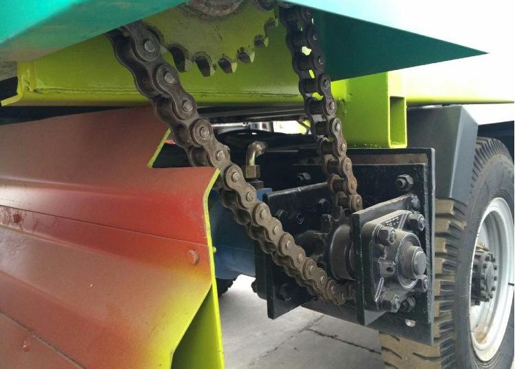 柴油动力撒料车 电动撒料车 养殖饲料撒料车 养殖机械设备撒料车示例图31