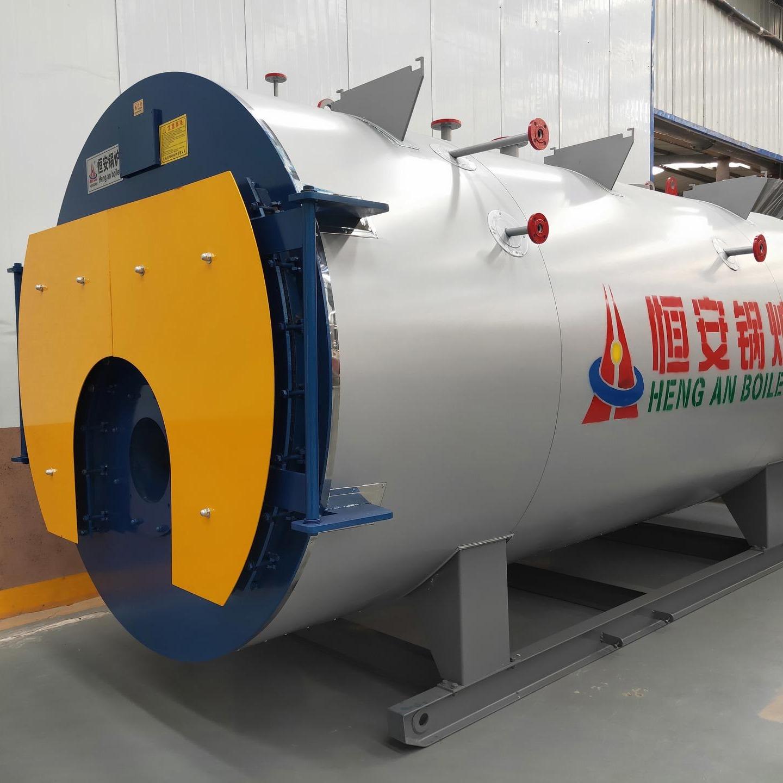厂家直销1吨WNS系列卧式燃油蒸汽锅炉,1吨燃油蒸汽锅炉价格