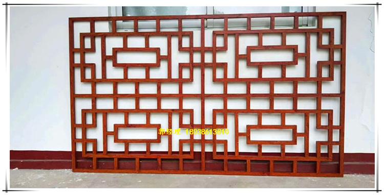 四川铝窗花建材装饰直销 灰色漆铝窗花设计打样 拼接铝窗花型材厂家示例图8
