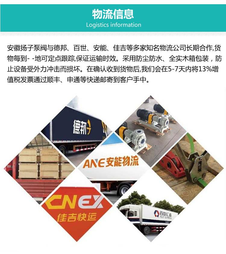 40CQ-20 不锈钢磁力泵生产厂家 不锈钢磁力泵选型及报价 304/316示例图15