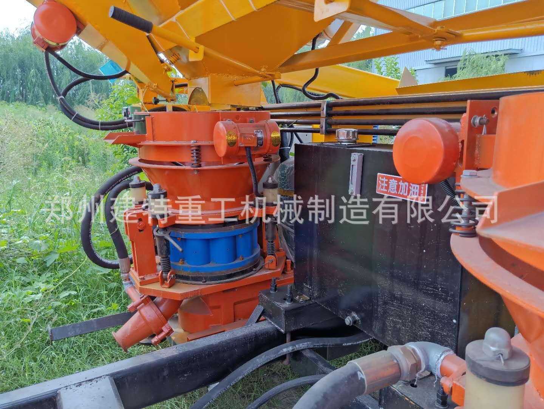 天水厂家直销一拖二混凝土喷浆车 自动上料喷浆车 喷浆设备示例图4