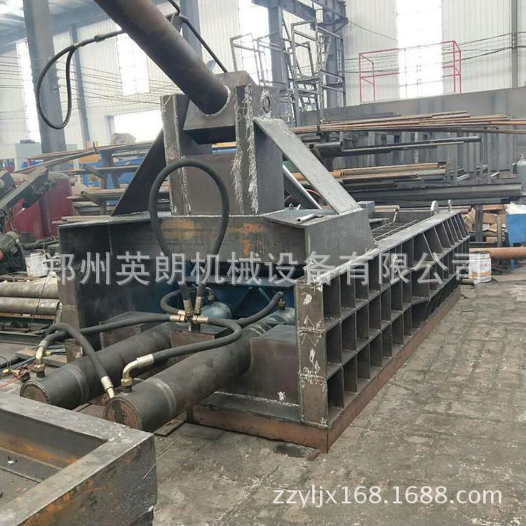 厂家直供废金属液压打包机 废铁铝压块机 卧式金属成型机示例图14