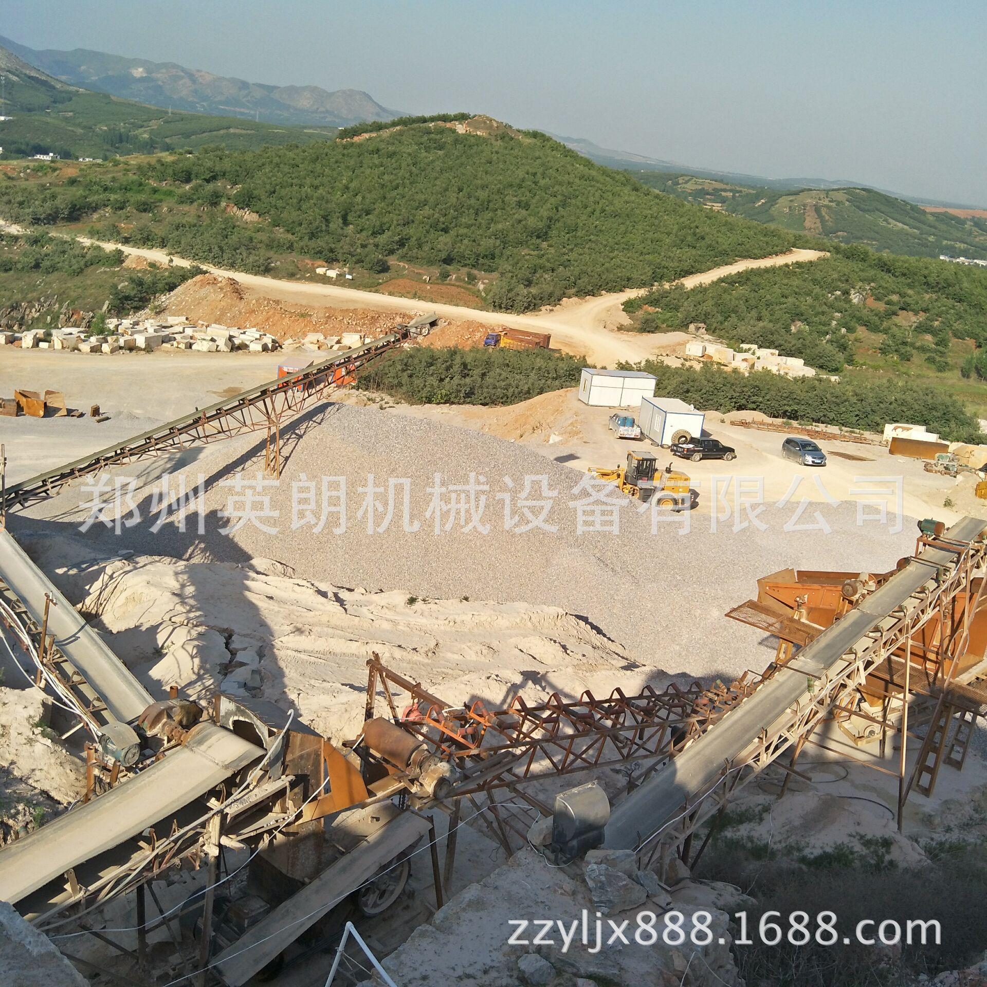 石料生产线全套设备配置 砂石石料生产线 大型石头破碎生产线示例图7