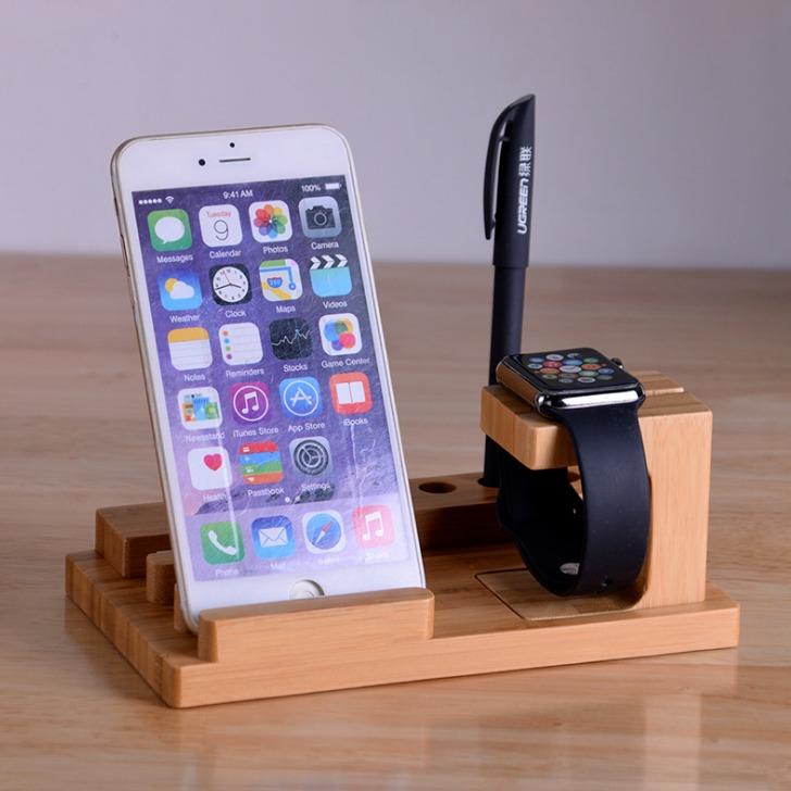 创意桌面一个是邪恶暴躁个性手机支架  厂恩这是你大师兄家批发木质懒人支架 创意手机支架