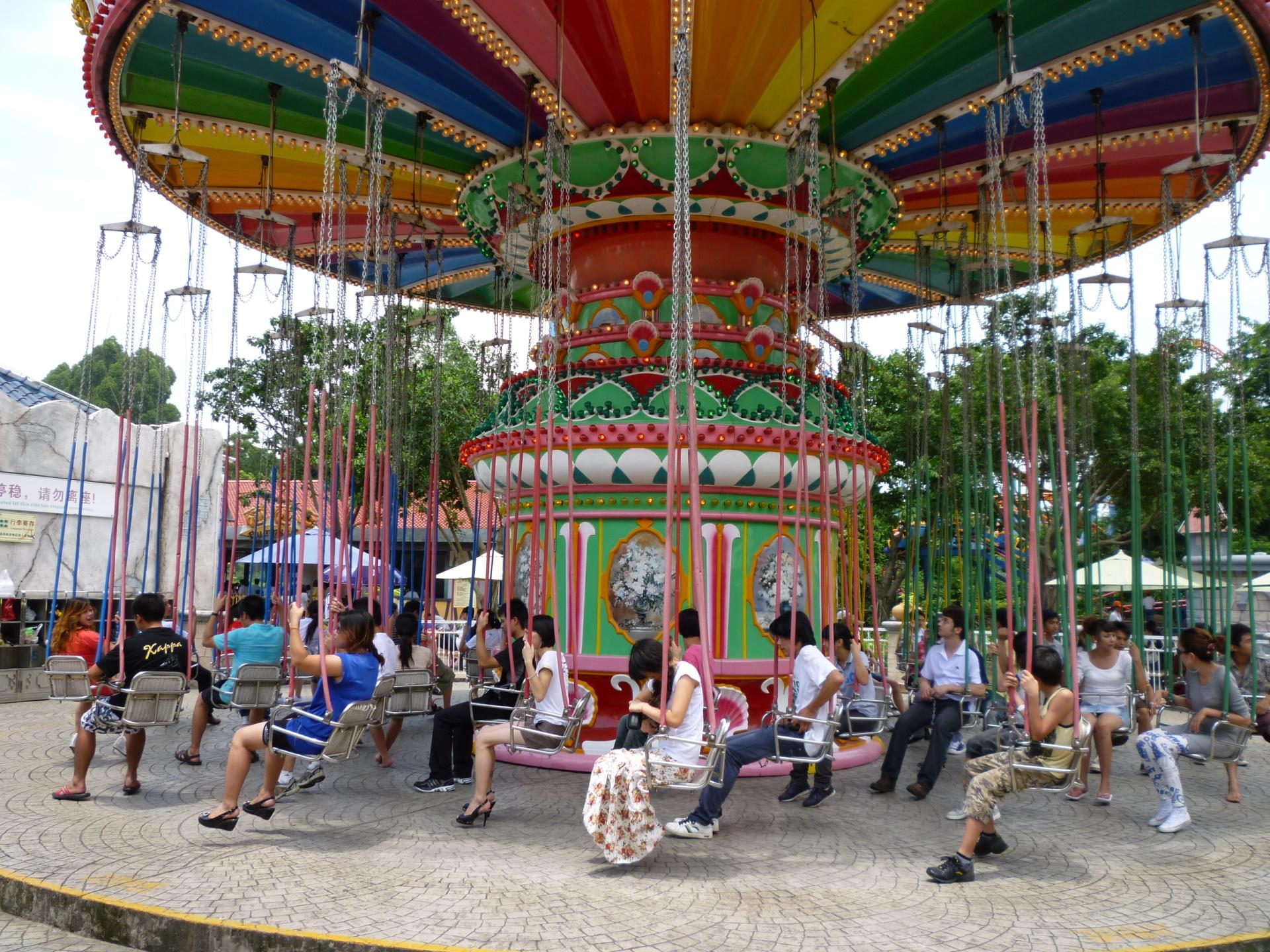 2020大洋飓风飞椅儿童游乐设备 公园旋转升降24座豪华飞椅游乐项目游艺设施厂家示例图13