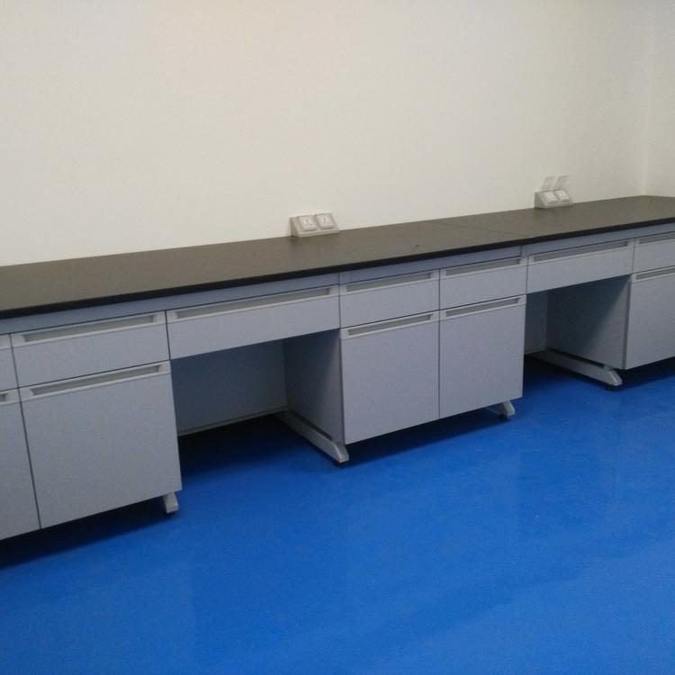 赛思斯 S-SG1泸州市钢木实验台 化验室家具 理化板实验边台环保局环境监测实验室
