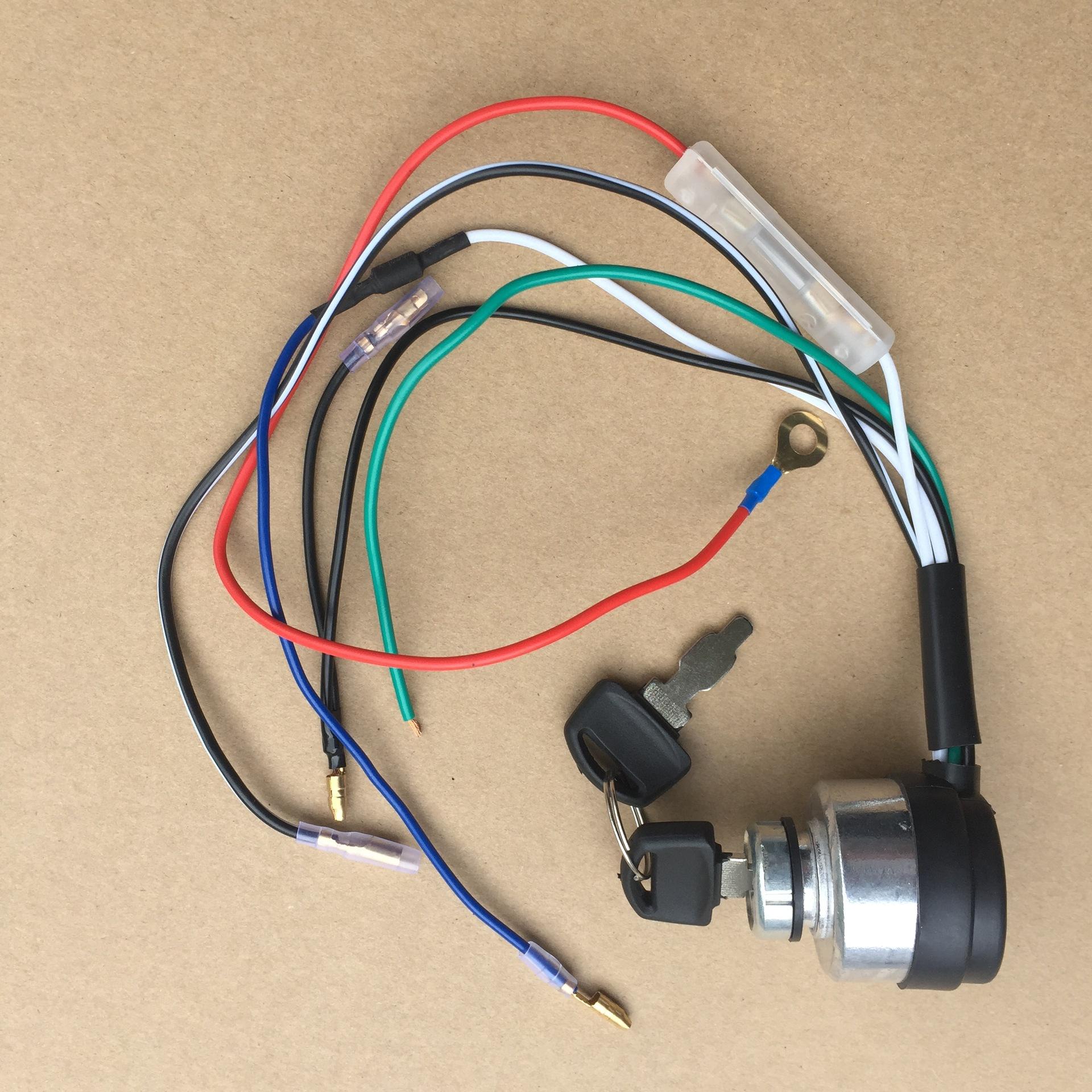 廠家直銷汽油機柴油機發動機188178F電門鎖