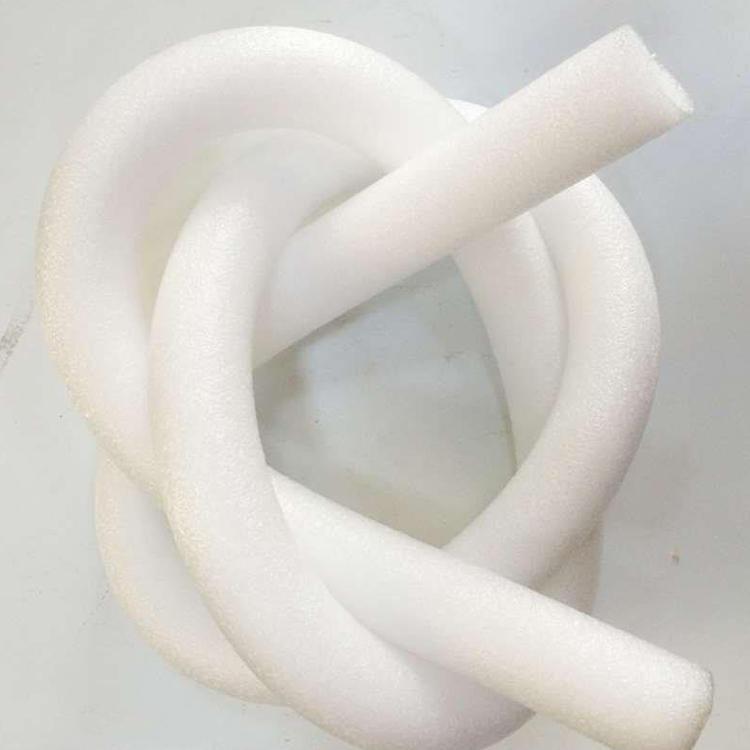 廊坊科迅供應聚氨酯保溫管發泡時用的填縫泡沫棒 #25白色填縫白色加密珍珠棉棒 epe珍珠棉實心棒
