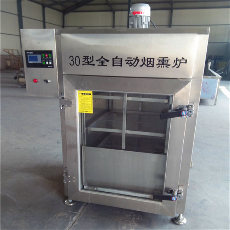 厂家供应不锈钢烟熏炉 哈尔滨红肠熏蒸炉 熏板鸭烟熏炉示例图3