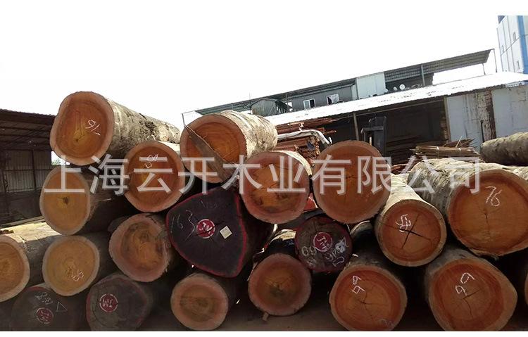 菠萝格地板 菠萝格防腐木板材 菠萝格木方圆柱 户外园林景观定制示例图7