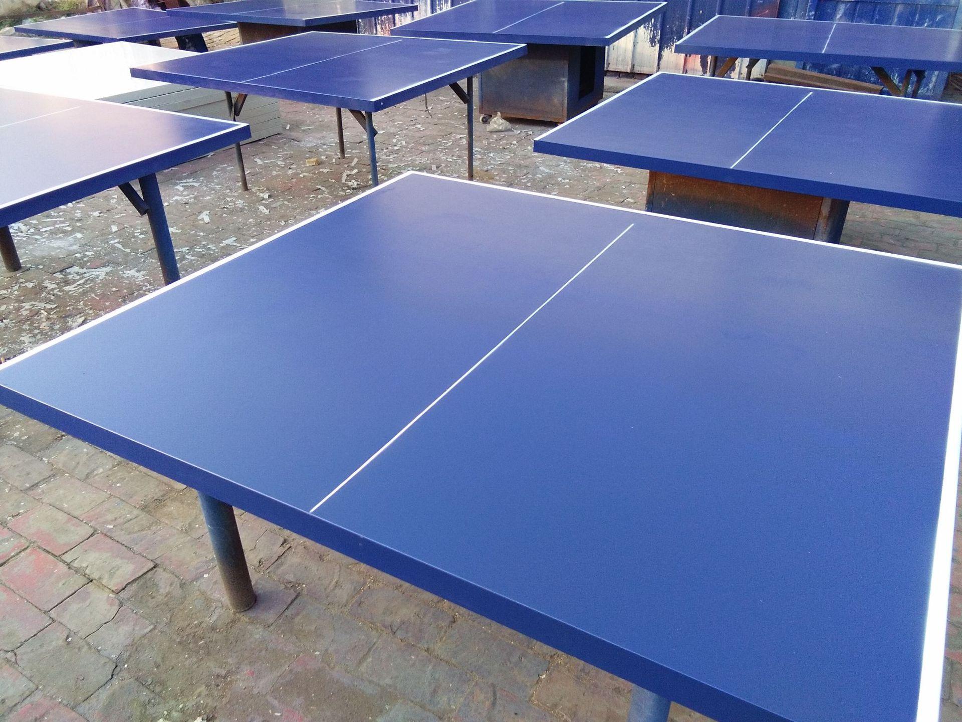 特价供应室内可移动乒乓球桌 家用标准乒乓球台 物美价廉售后无忧示例图27