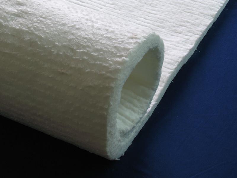 【人气新品】硅酸铝针刺毯|硅酸铝保温棉|硅酸铝纤维针刺毯示例图2