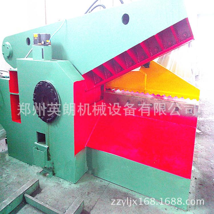 热销废旧金属鳄鱼剪切机 废铁液压鳄鱼剪 300吨钢板边角料剪断机示例图19