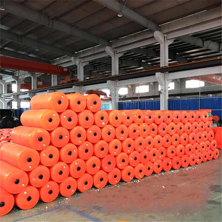水环境治理拦污浮筒 水上工程隔离警示浮筒 水下漂浮物挂网拦截浮筒