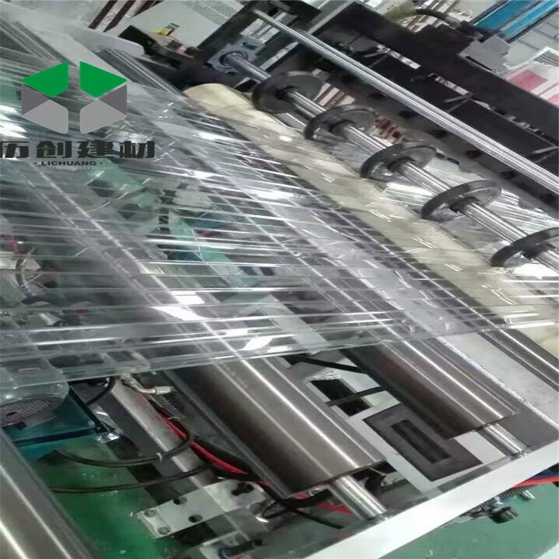 广州花都厂家pc波浪瓦pc840透明色温室大棚可现场施定制厂家热销示例图18