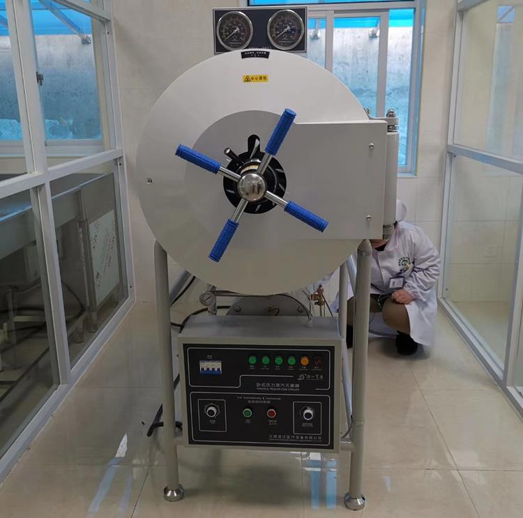 WS-200YDA臥式圓形壓力蒸汽滅菌器 200升臥式高壓蒸汽滅菌器示例圖1