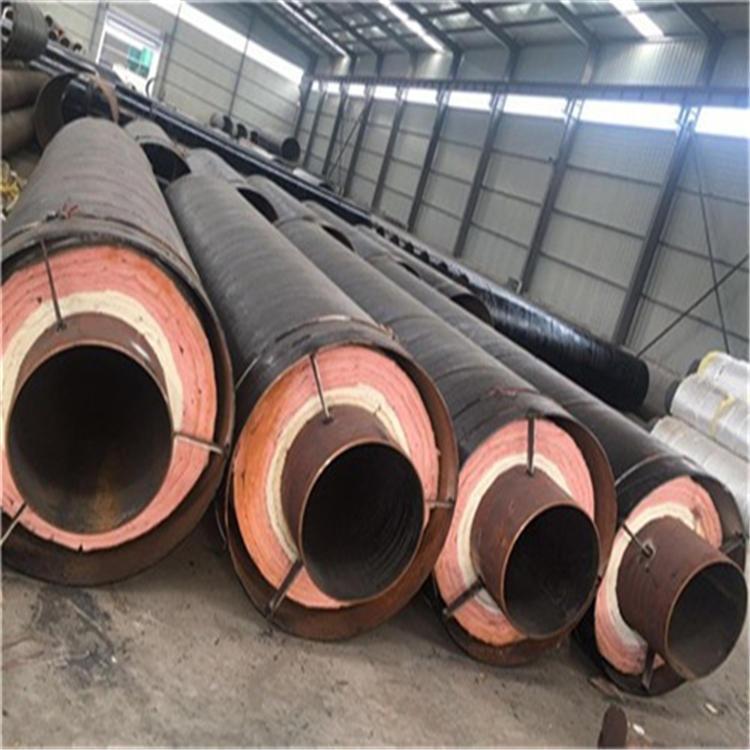 龍都管道 供應 工業蒸汽保溫管 鋼套鋼蒸汽鋼管 鋼套鋼復合保溫管