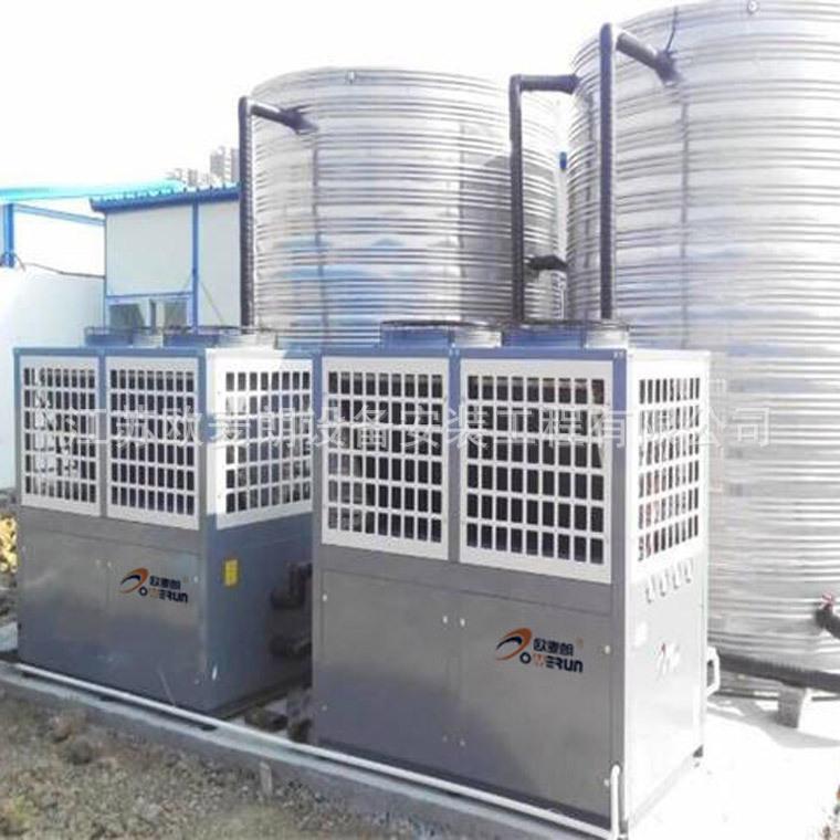2空气能热泵机组15P上海空气能热水工程 12吨空气能热水系统示例图3