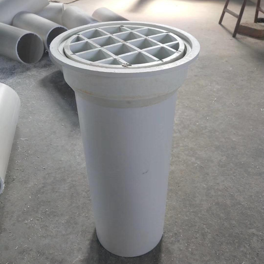 卓正橡塑 PVC桥梁泄水管 高铁高速桥梁泄水管 管盖圆矩形米井字盖 塑料泄水管  可定制