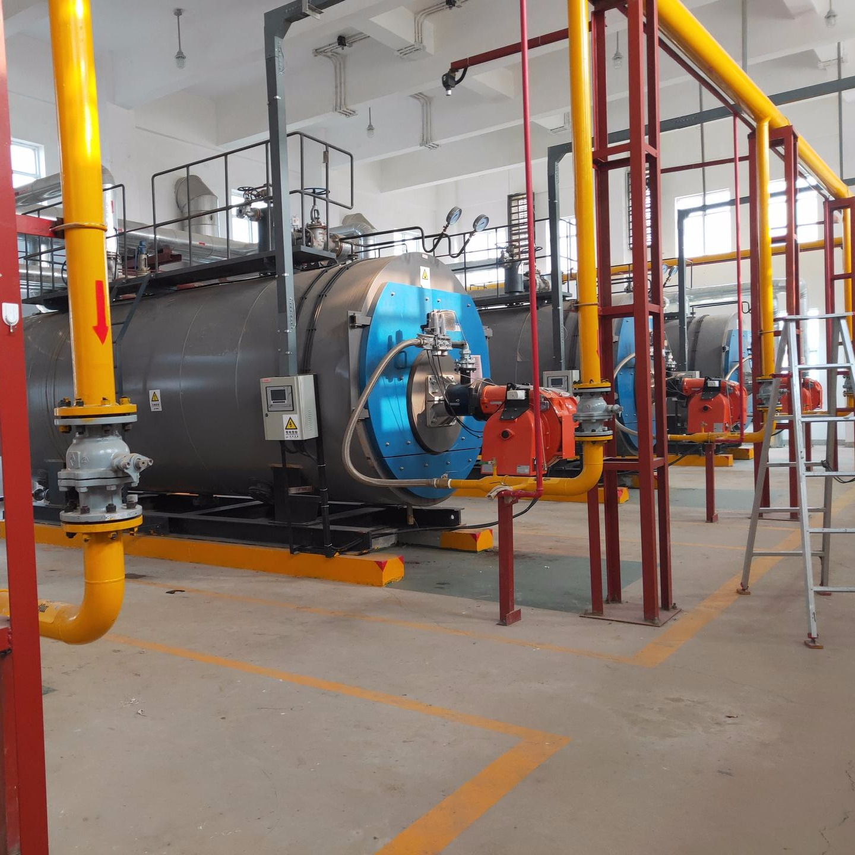 恒安锅炉供应4吨热水锅炉 2.8MW燃气常压热水锅炉 CWNS2.8-85/60-YQ