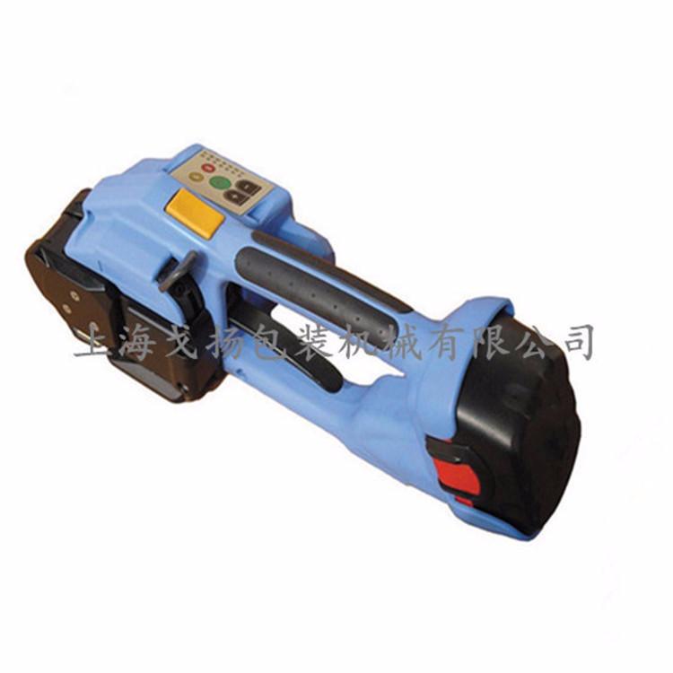 电动打包机T-200,手提式打包机快速便捷,免扣塑钢带电动打包机