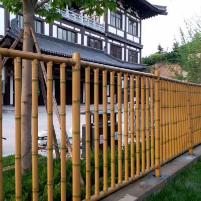 森都 江苏仿竹护栏 仿竹护栏篱笆 景观竹护栏 景观防撞竹护栏
