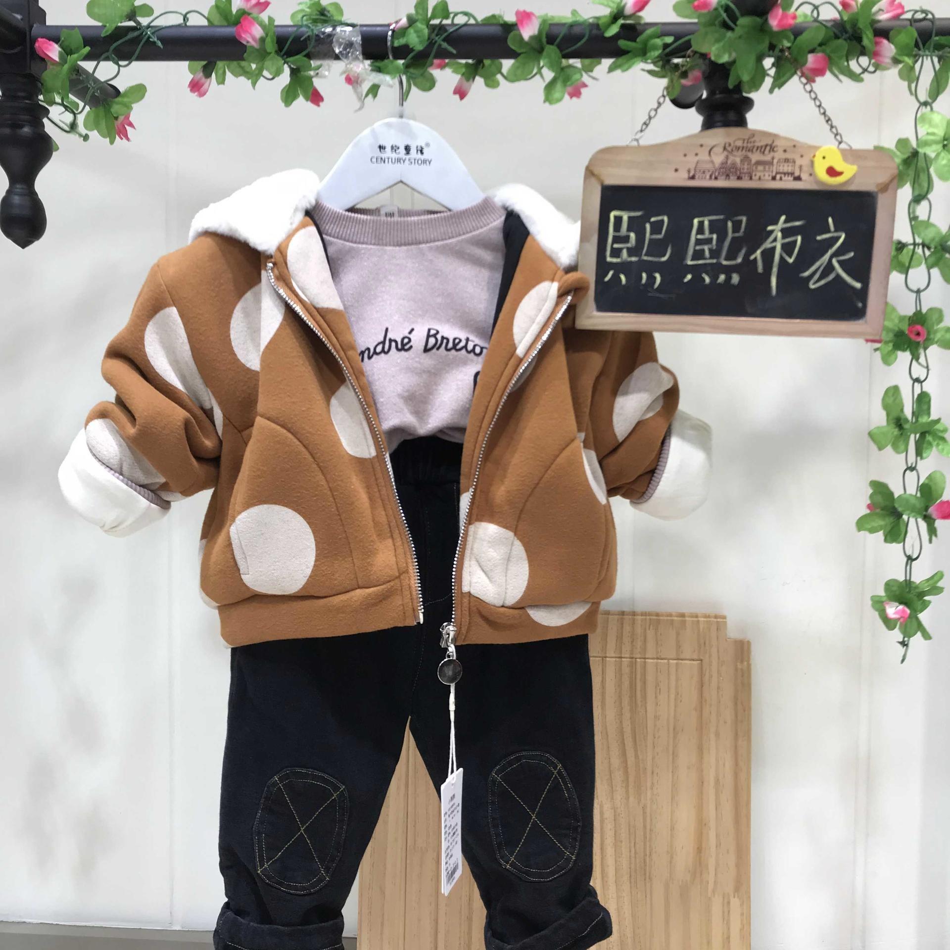 熙熙布衣品牌童裝冬裝 2019當季新款品牌折扣童裝走份批發 童裝冬