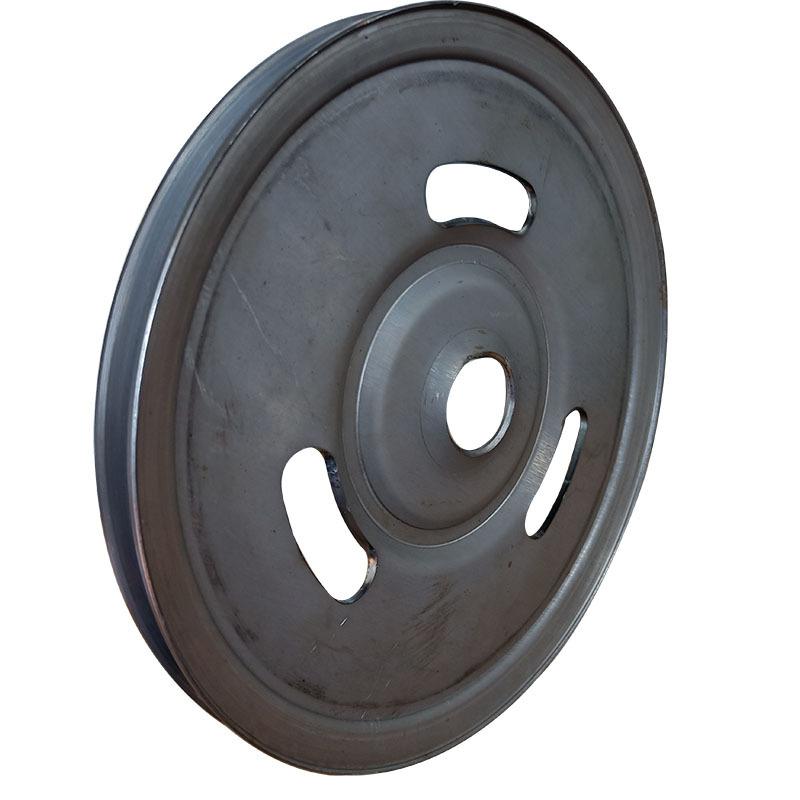 厂家直销新款熟铁旋压单槽劈开式皮带轮可定做异形轮示例图4