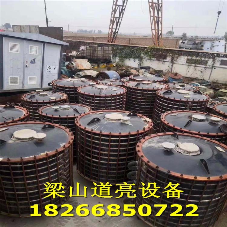 廢水降溫列管式冷凝器 道亮二手設備 半不銹鋼冷凝器 二手10平方搪瓷片式冷凝器