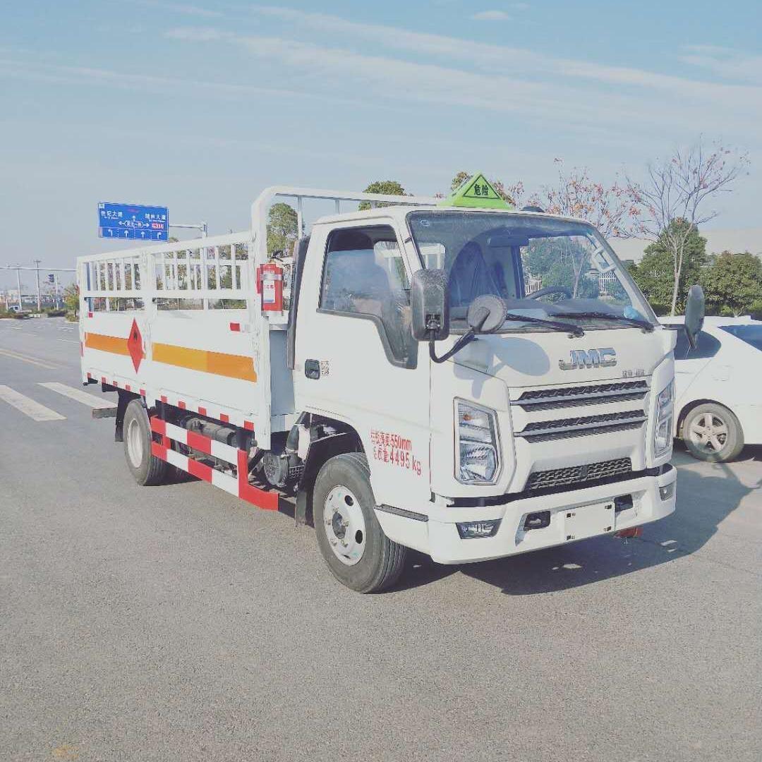 江鈴順達寬體國六藍牌4.2米氣瓶運輸車廠家直銷