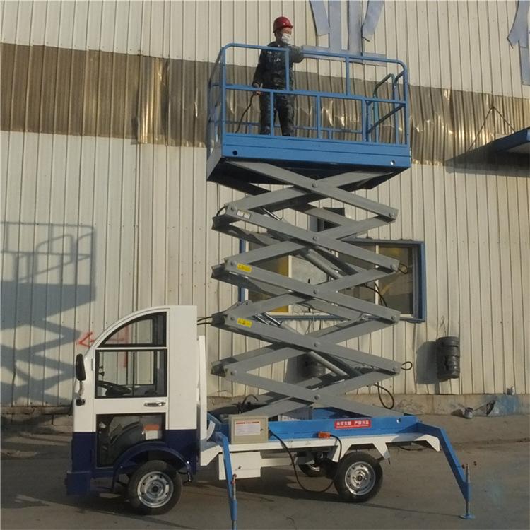 厂家直销 车载升降平台车载电动平台 升降货梯 车载剪叉式升降机示例图10