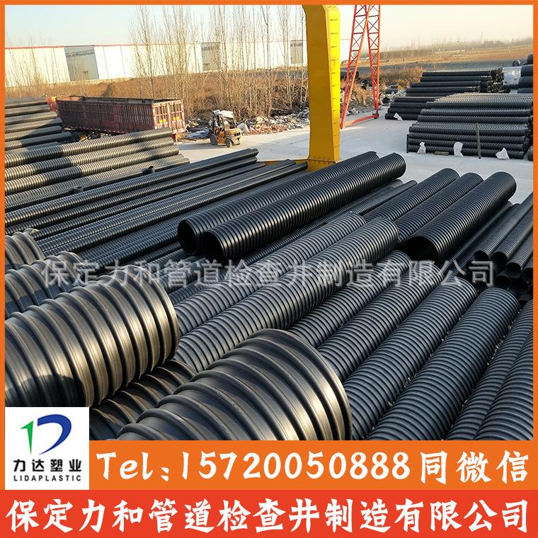 高密度聚乙烯螺旋波纹管 钢带波纹管 雨污水管网专用示例图8