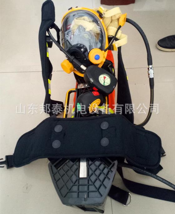 3C消防�J�C呼吸器∮配件RHZK6.8消防呼吸器面罩 救生器材全面罩示�z例�D8