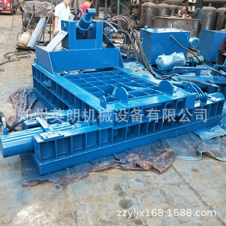 卧式高效废旧金属压块机 废铁压块机 金属废料液压压块机示例图34