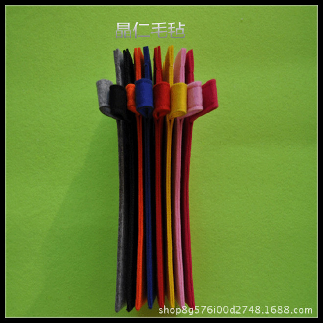 厂家直销毛毡吸水伞袋伞套款式新好收纳质量好时尚高端雨伞收纳袋示例图5