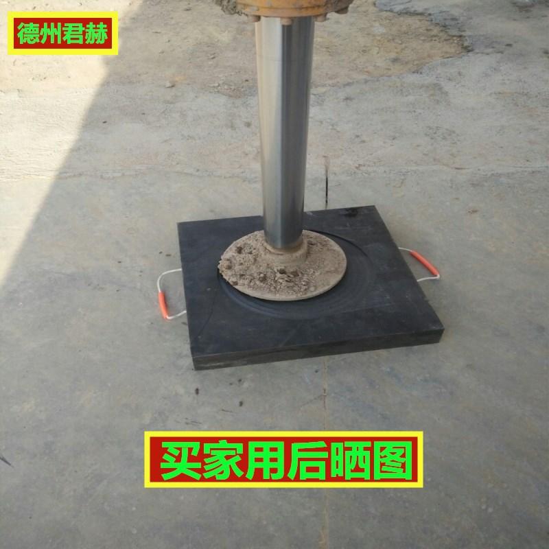 高分子聚乙烯抗压防滑吊车支腿垫板 中联泵车脚垫 起重机支脚板示例图5