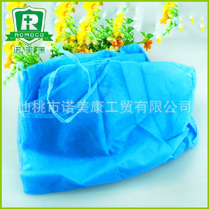 厂家出售 一次性蓝色防护服 透气膜防尘防静电 防护衣定做