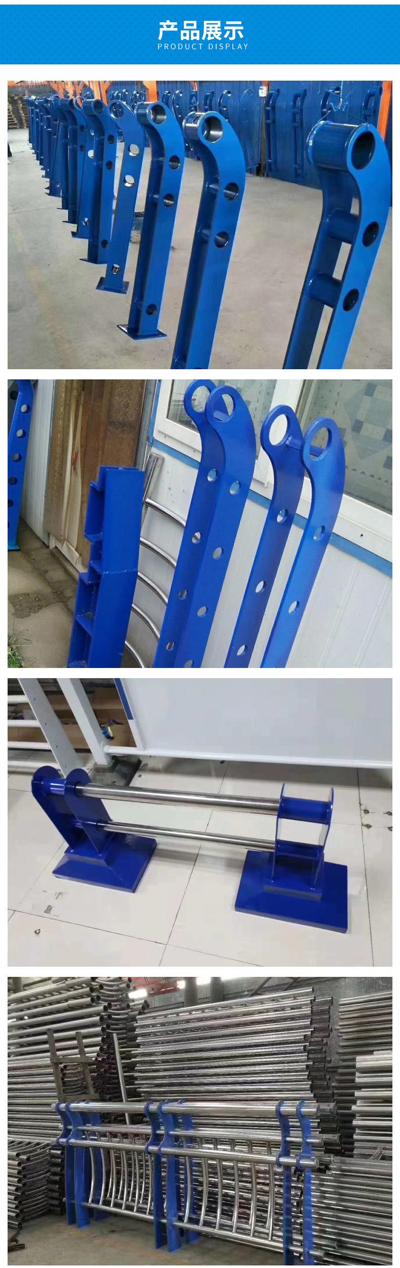 厂家直销景观护栏河道护栏高速护栏景观护栏加工 景观栏杆设计示例图6