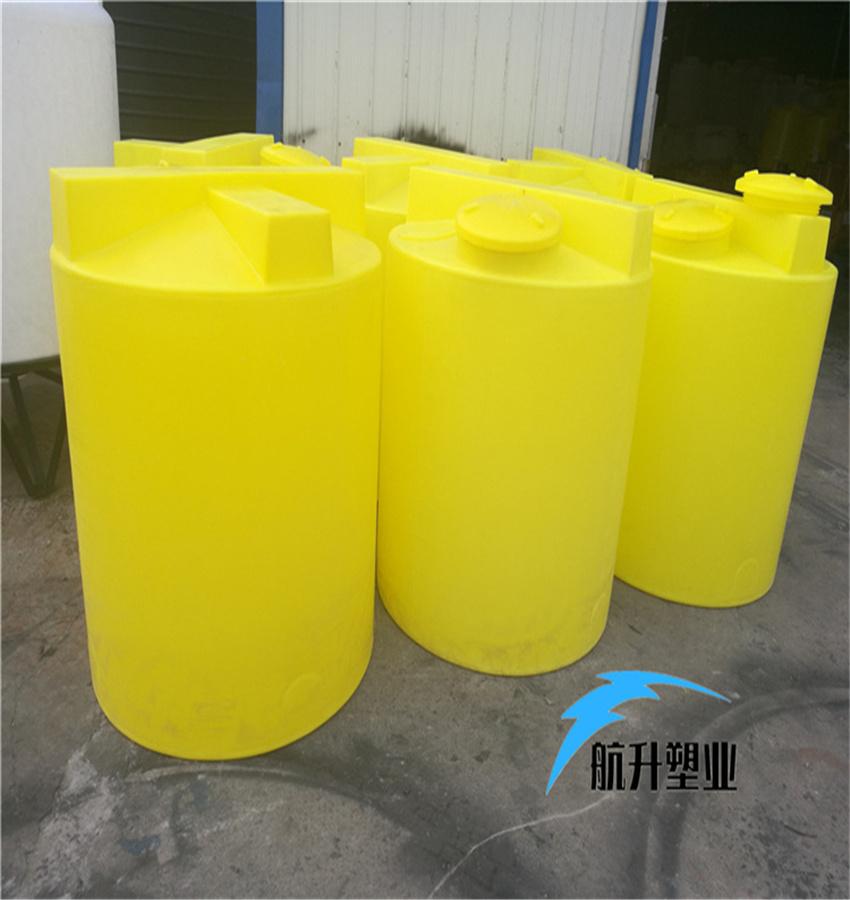 PE加药箱 江西加药桶厂家航升塑业供应1吨污水搅拌加药桶示例图6