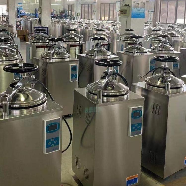 LS-75HD高壓消毒鍋 75升不銹鋼高壓消毒鍋 手輪式壓力蒸汽滅菌器示例圖2