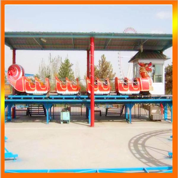 郑州大洋专业生产滑行龙 儿童游乐设备 大型户外游乐滑行龙厂家示例图13