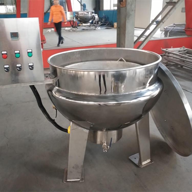 厂家生产电加热行星夹层锅 阿胶炒锅 可倾式混合搅拌炒锅 可定制