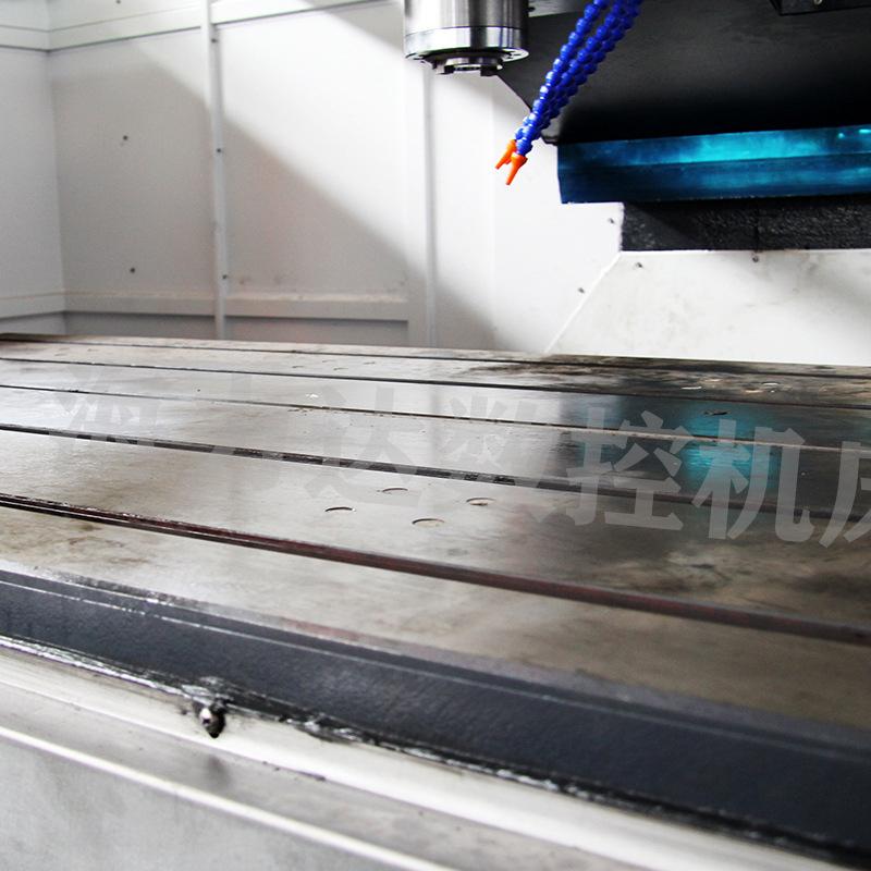 厂家直销数控钻铣中心山东海力达zxk-2010半防护钻铣床xyz大行程示例图13