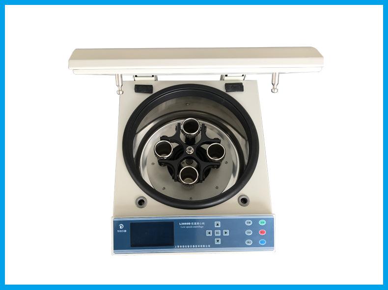 上海知信离心机 低速离心机 L3660D离心机 医用离心机 沉淀离心机示例图4