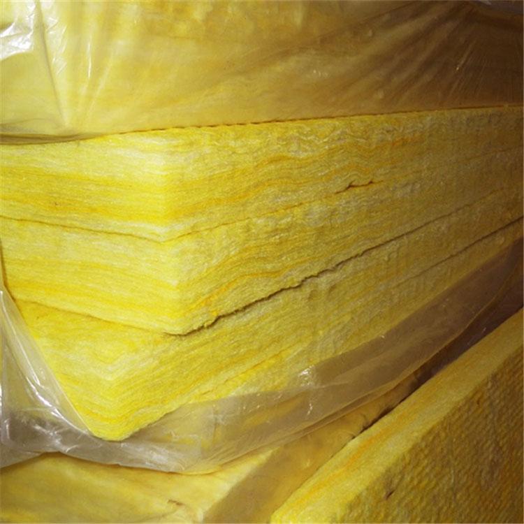 防水玻璃棉 白色玻璃棉板 生产销售玻璃棉板