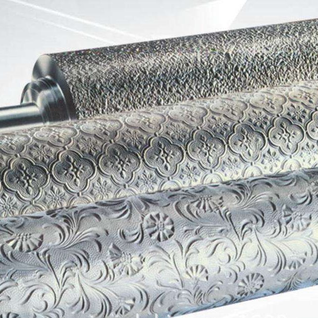 睿鐸五金供應     彩鋼板壓花機     花輥  羊毛棍   玻璃棍  霧面棍