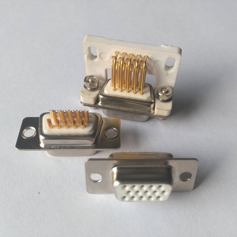 电源连接器 15芯D型车针连接器 生产批发发  东普电子