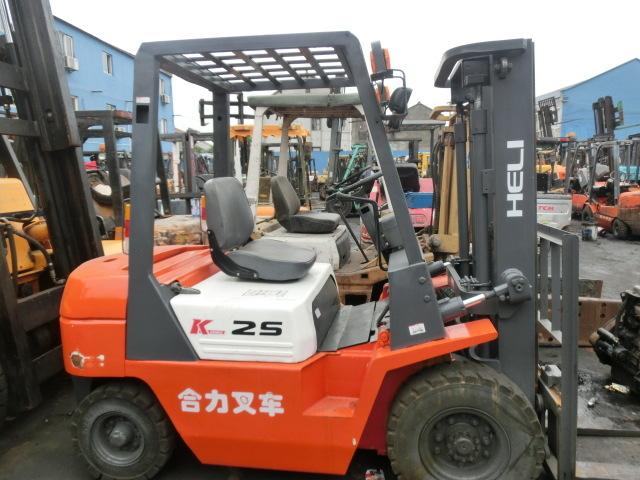 原裝二手杭州叉車 柴油3噸合力內燃叉車 2噸無極變速自動檔鏟車