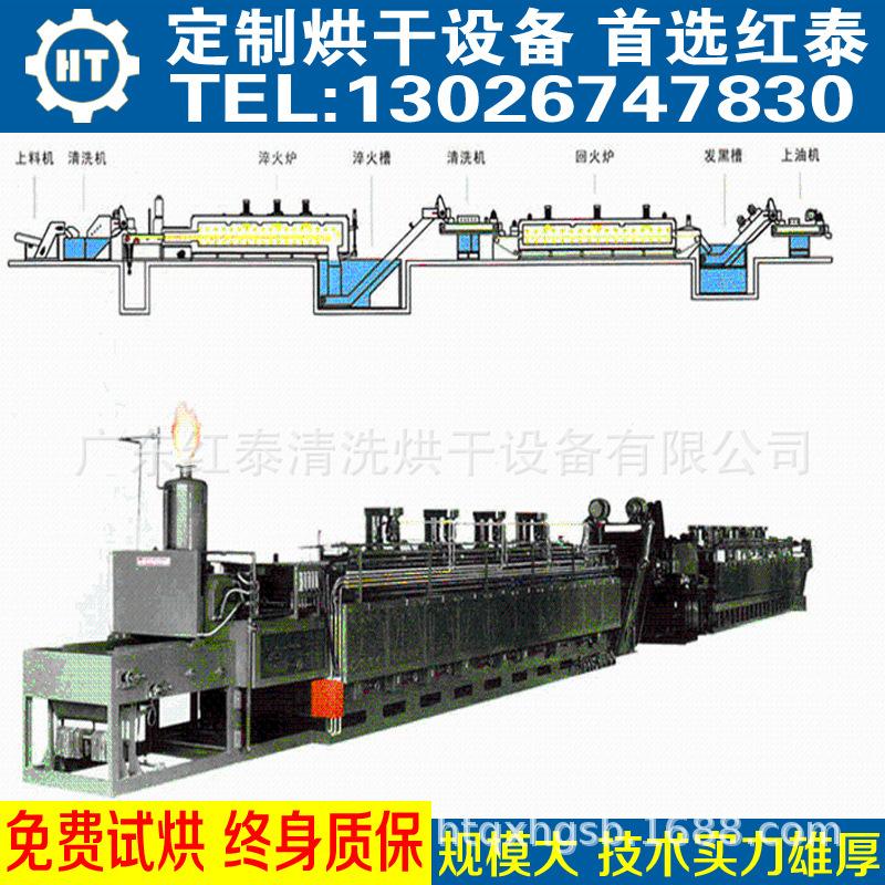 高温网带炉 隧道炉 隧道烘干炉 带式炉 带式烘干炉 隧道烘烤炉示例图9