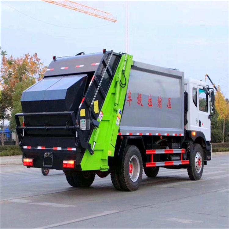 國六5方8方掛桶垃圾車 哈密垃圾壓縮車工作視頻 環衛垃圾回收車 廠家直銷  可分期購買的垃圾清運車